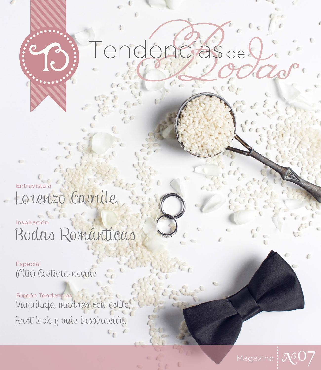 Nº01 Tendencias de Bodas Magazine (Jun 11) by Tendencias de Bodas ... 56b291e7c20
