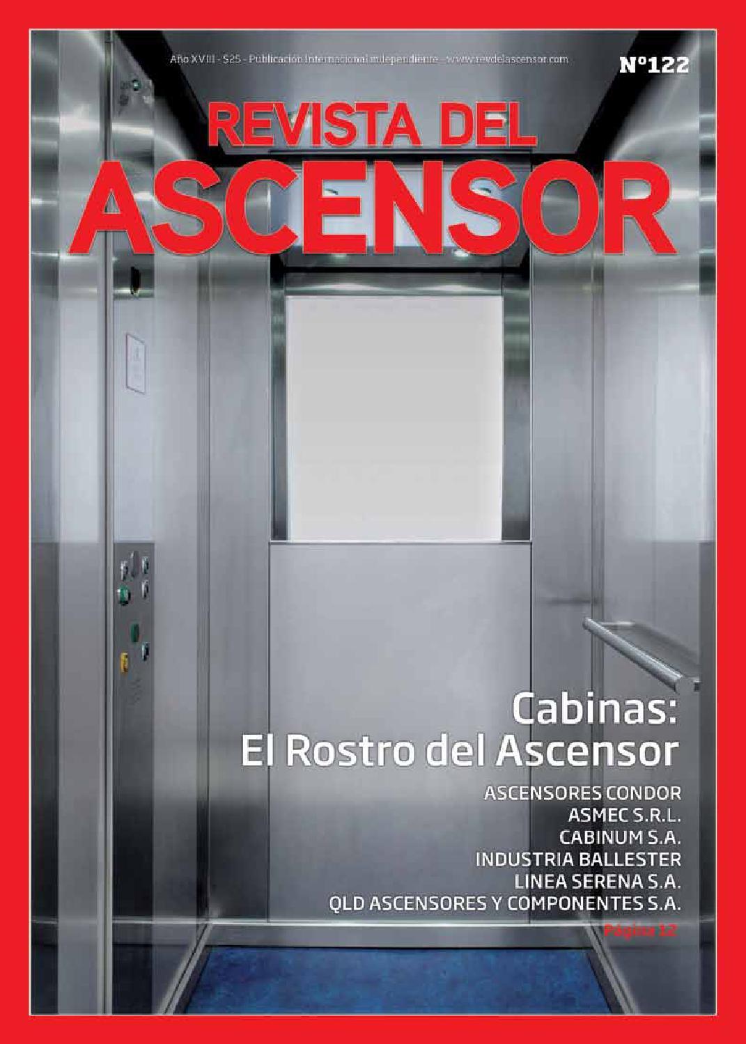 Revista del Ascensor N 122 by dimero dimero - issuu