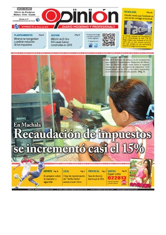 Impreso 16 03 14 by Diario Opinion - issuu