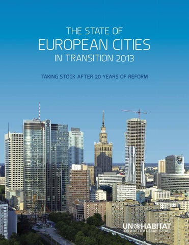 The State of European Cities in Transition 2013 by UN-Habitat - issuu c8d80255551