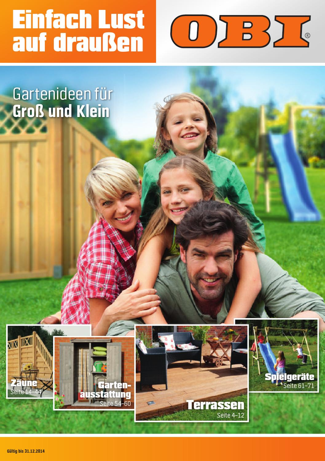 Obi Angebote Gartenmobel2014 1 By Promoprospekte De Issuu