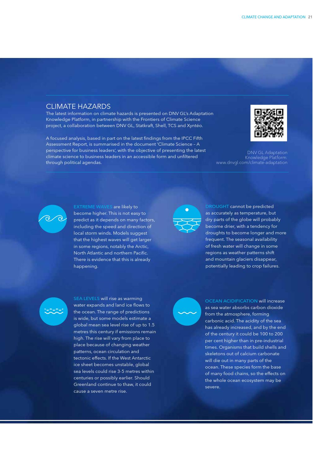 Adaptation to a changing climate by DNV GL (old account) - issuu