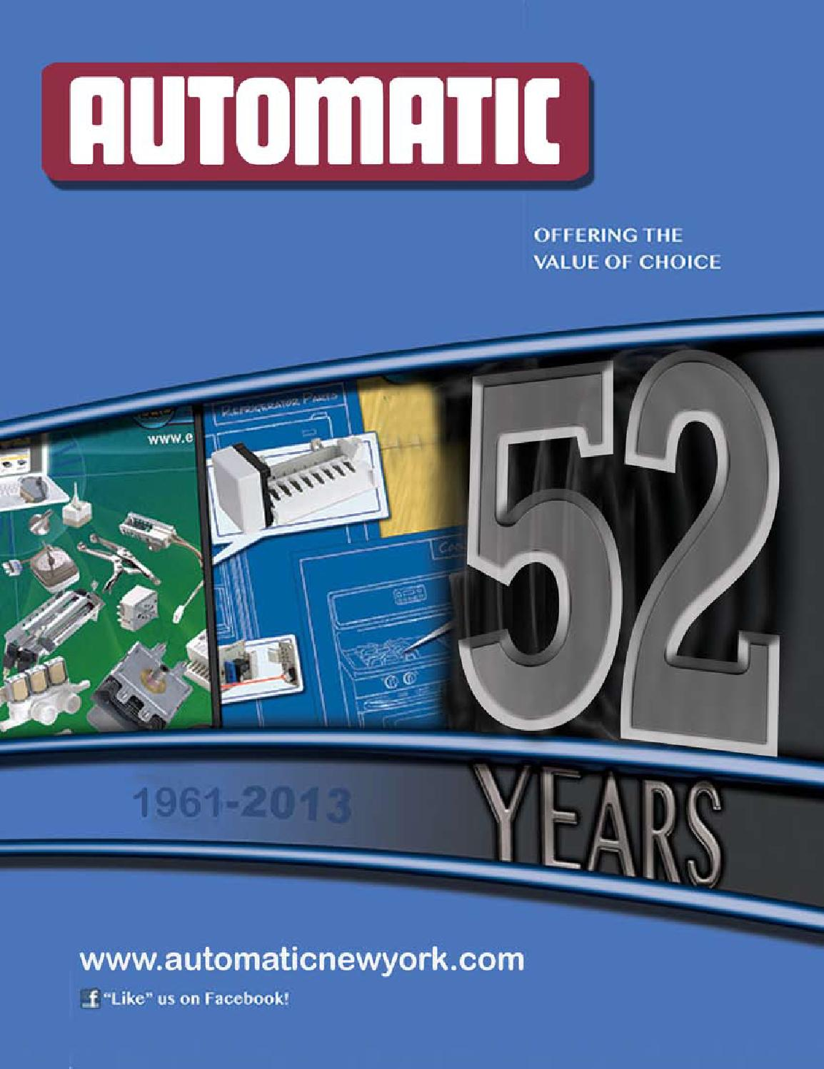 Automatic Parts Catalog By Robin Gould Issuu 482493 Defrost Timer Wiring Diagram