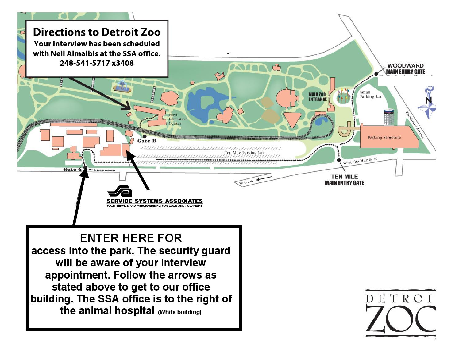 map of detroit zoo Map To The Detroit Zoo By Ssa Retail Issuu map of detroit zoo