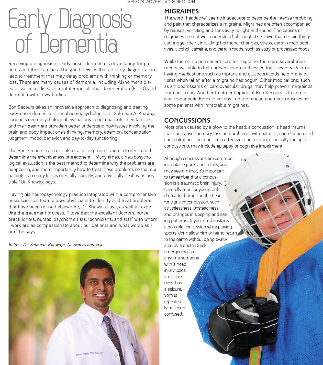 Bon Secours - What Is Neuroscience? by Style Weekly - issuu