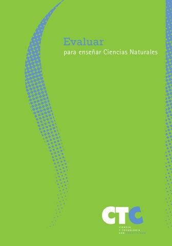 Cuadernillo evaluar para enseñar ciencias naturales (1) by Pablo ...