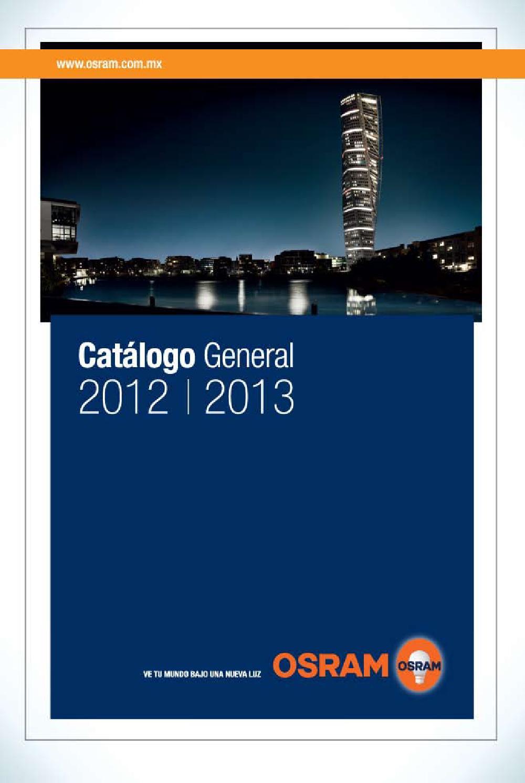 Cat logo 2012 osram by dicisalighting issuu for Catalogo osram led