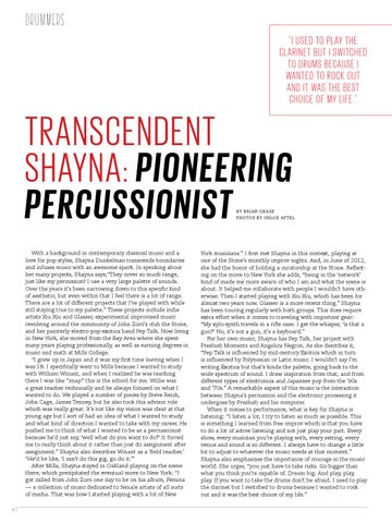 Page 42 of Transcendent Shayna: Pioneering Percussionist