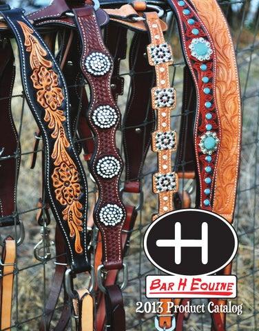 Bar H Equine 2013 Product Catalog by luciddesign - issuu 6dab1e39c0ab