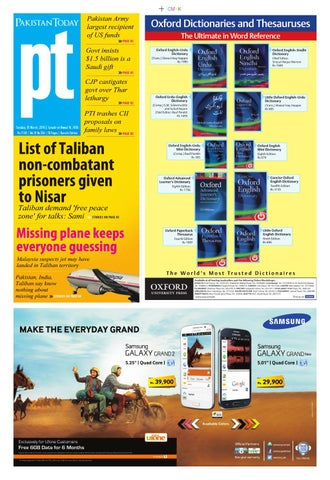 E paper pdf 18 03 2014 khi by Pakistan Today - issuu