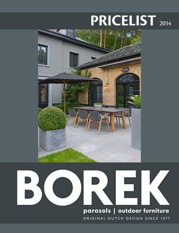 Borek Stresa Parasol.Borek 2014 Pricelist By Borek Parasols Outdoor Furniture Issuu