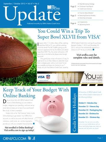 Ornl Update 2012 Vol 47 No 5 By Ornl Federal Credit Union Issuu
