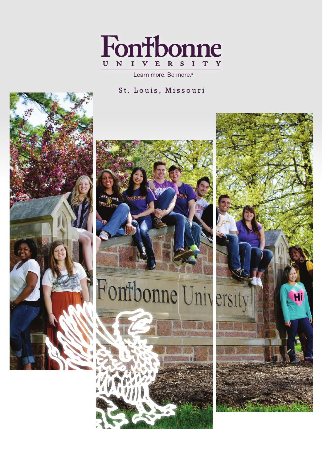Fontbonne Campus Map.Ff13viewbook Full Final Updated By Fontbonne University Issuu