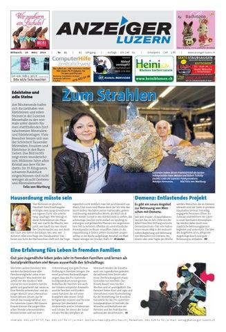 Anzeiger Luzern 11/ 19.3.2014 by Anzeiger-Luzern - Issuu