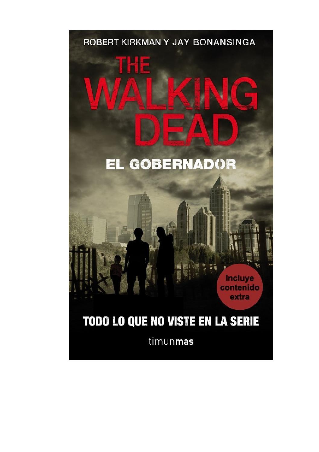The walking dead el gobernador (robert kirkman, jay bonansinga ...