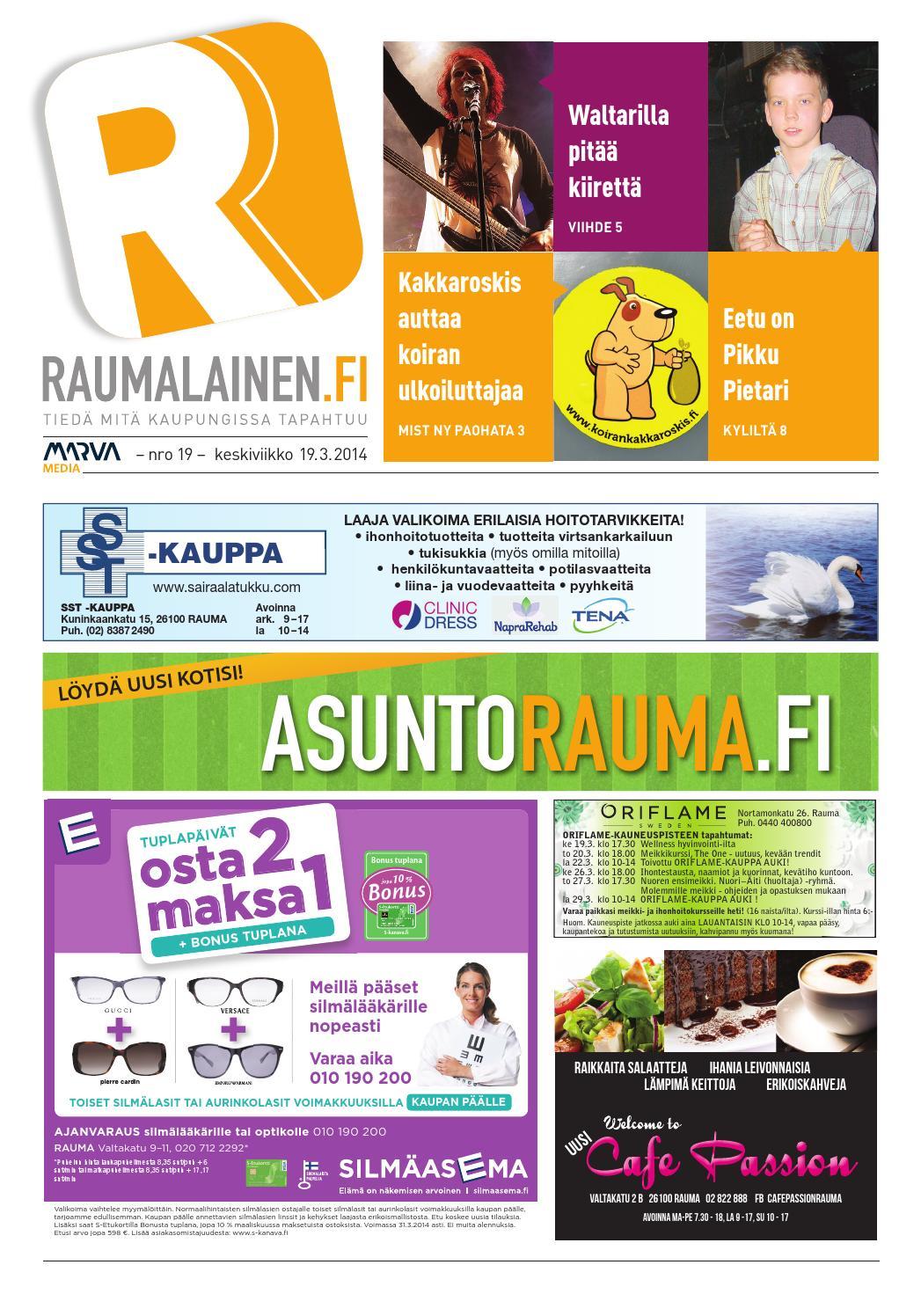 Raumalainen 19.3.2014 by Marva Group - issuu 29cae2b920