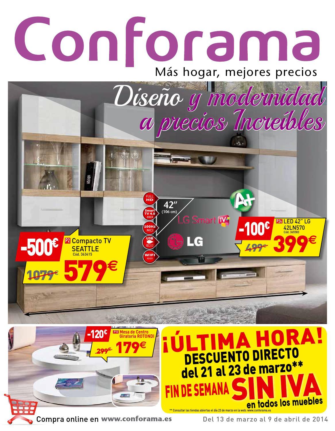 Conforama by losdescuentos - issuu