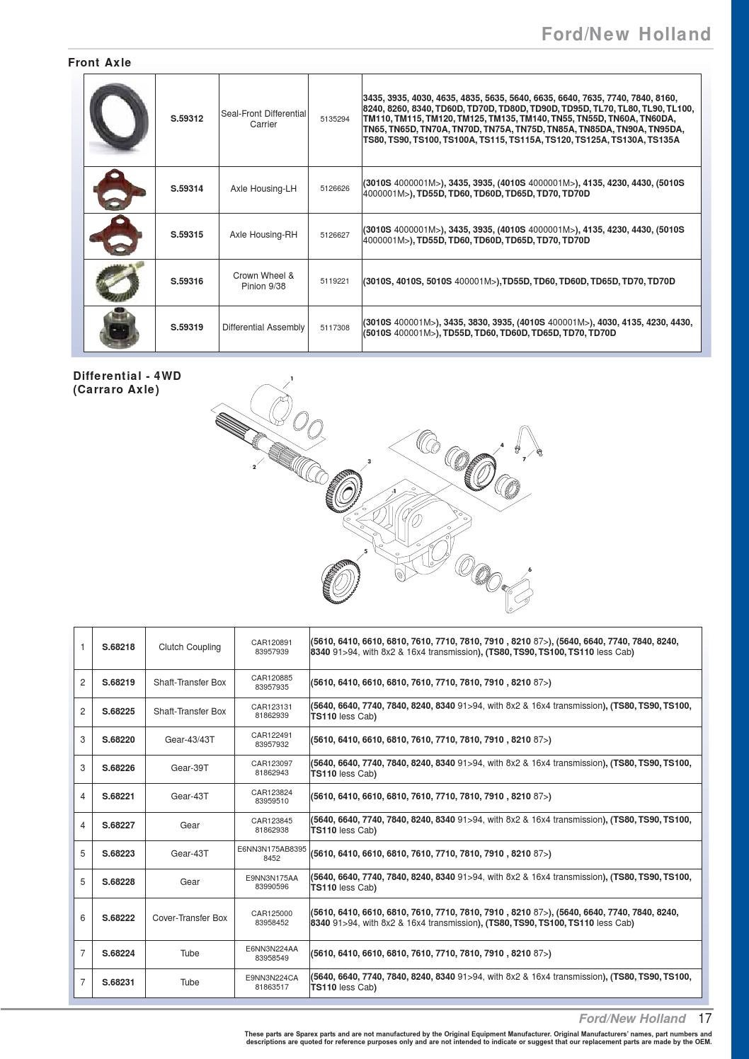 S 73914 oe new products 2011 by qldtractorspares - issuu