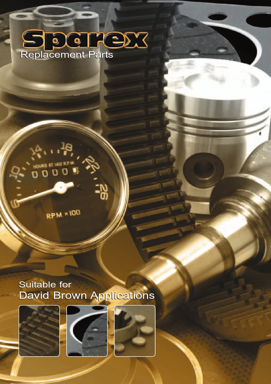 950 885 Thermostat David Brown 770 995 880 990 890 996// K900368 850 780
