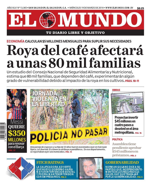 Mundo190314 by Diario El Mundo - issuu