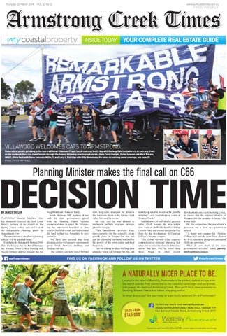 Armstrong Creek Times  March 20, 2014 by Surf Coast News Australia ... 8abb2b69e4c7