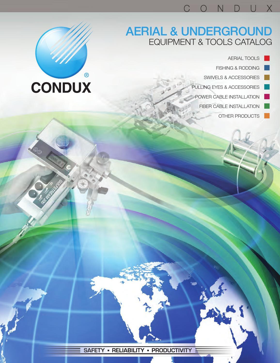 Condux 2013 & 2014 USA Catalog by Condux International - issuu