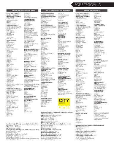 City Center One Magazin Br 25 Proljece 2014 By Ccone Ccone