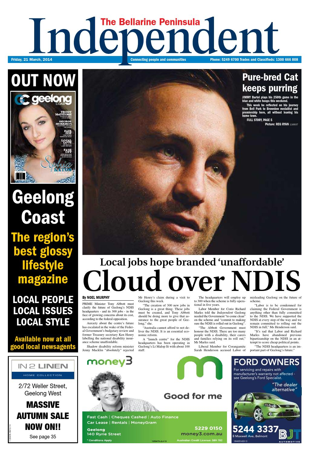 Bellarine Independent 21st March 2014 By Star News Group Issuu