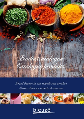 Bleuzé Food Catalogue 2014 by Bleuzé Authentic Fine Food
