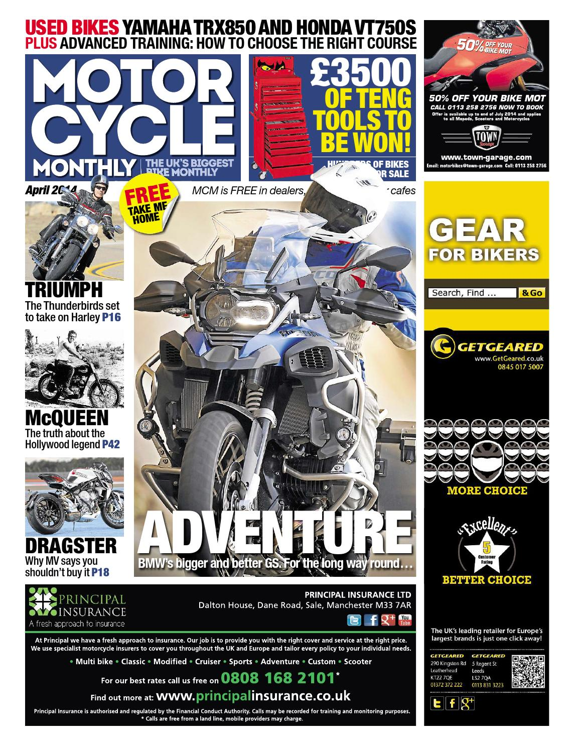 a63e8a5050 Motor Cycle Monthly - April 2014 - Full Edition by Mortons Media Group Ltd  - issuu