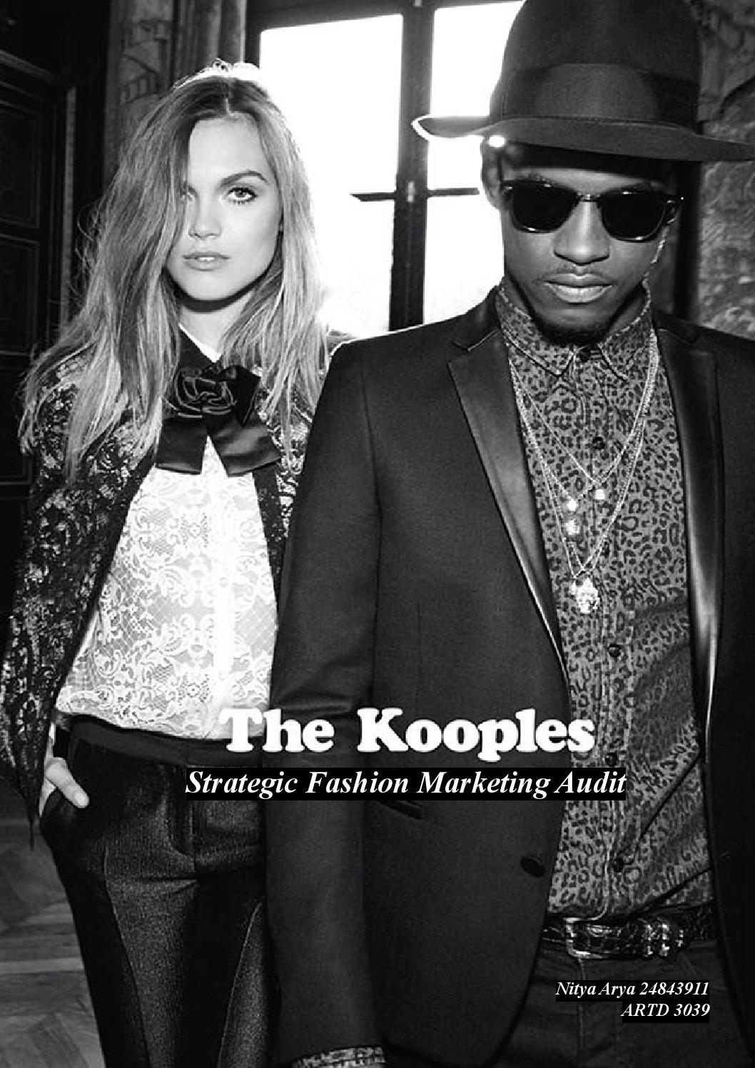 the kooples brand audit Find this pin and more on kotva i contemporary super brands by yuliaspiridonova valentijn de hingh discusses her life as a trans model, and how we can all break free.