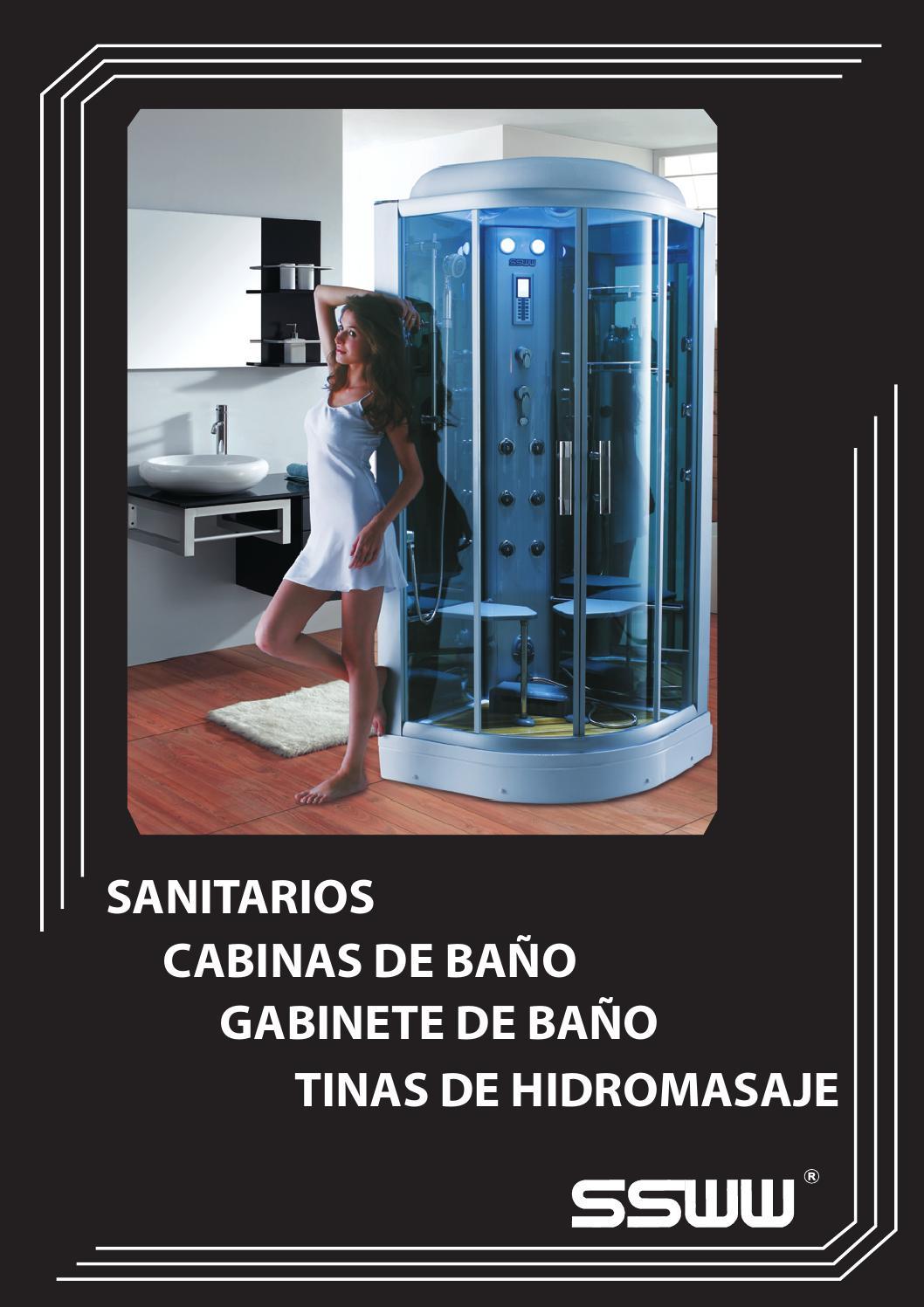 Tinas y cabinas de ba os ssww by stalin zambrano issuu for Cabinas para banos precios