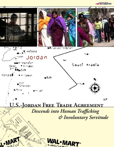 Us Jordan Free Trade Agreement Descends Into Human Trafficking And