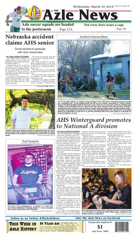 Bon Wednesday, March 19, 2014 Volume 62, Number 40. Azle News THE