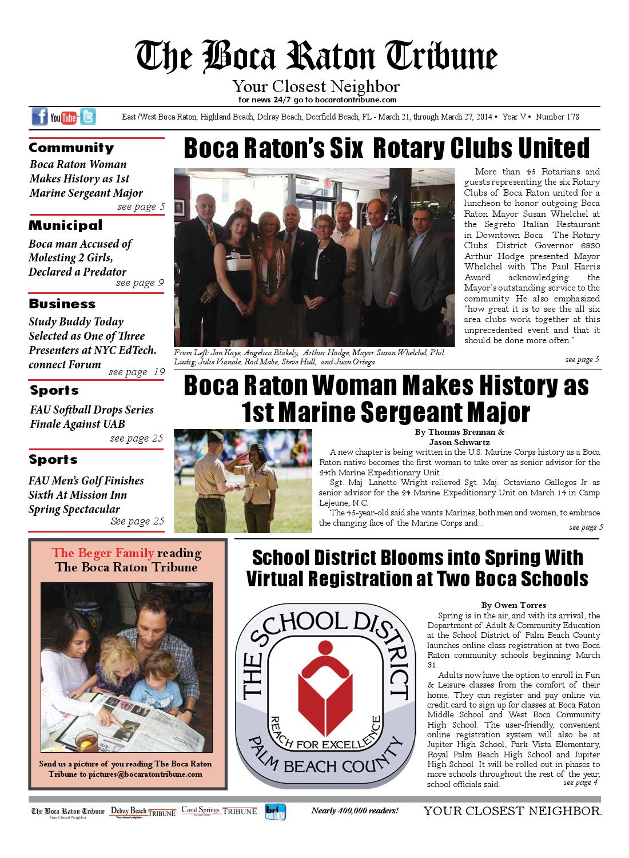 24905e95935 The Boca Raton Tribun ED 178 by The Boca Raton Tribune - issuu