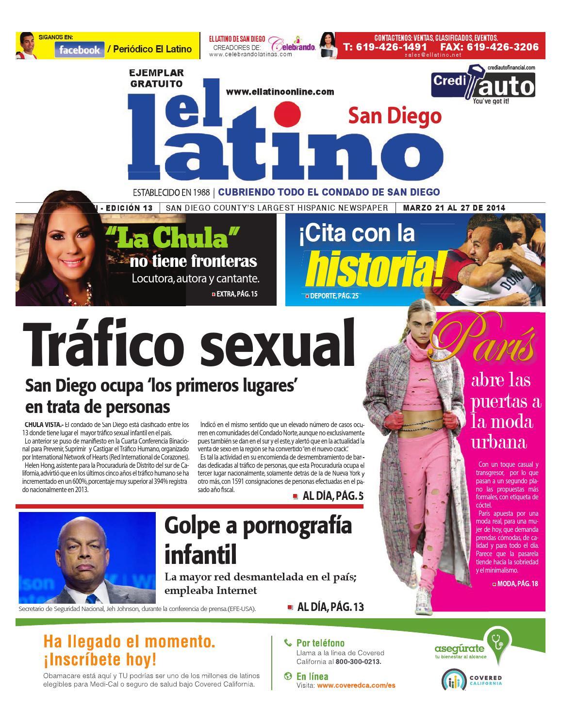 Marzo 21 al 27 del 2014 by El Latino San Diego Newspaper - issuu
