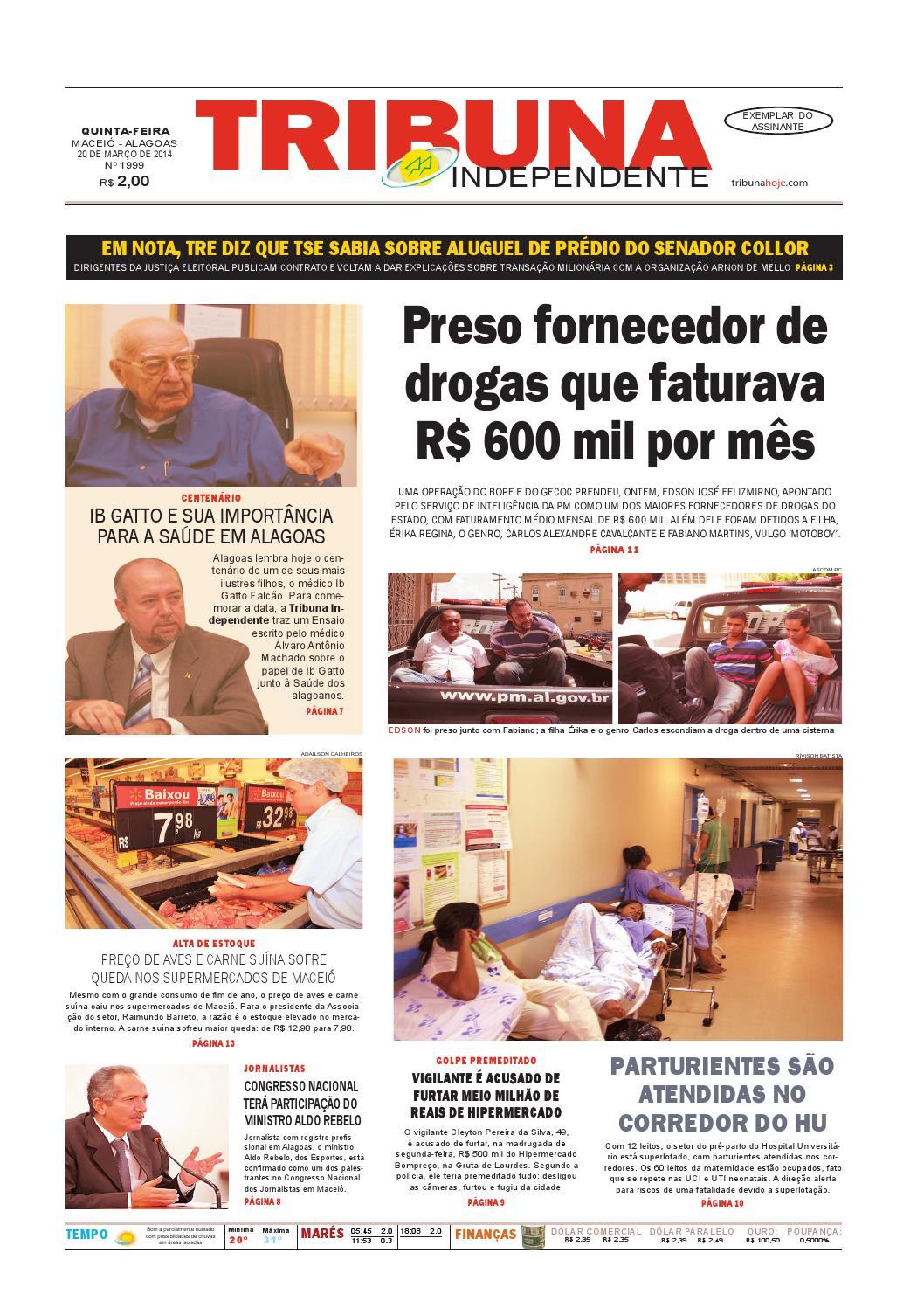 7648c488380 Edição número 1999 - 20 de março de 2014 by Tribuna Hoje - issuu
