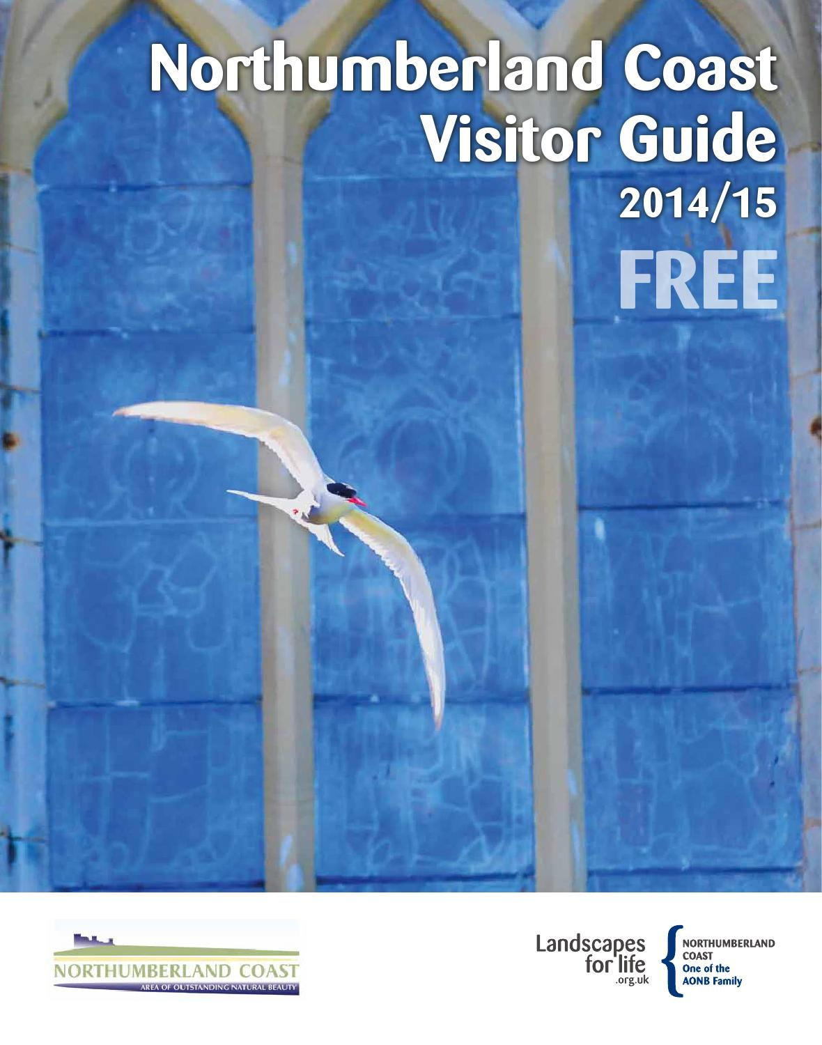 Northumberland coast visitor guide 2014 15 by Northumberland