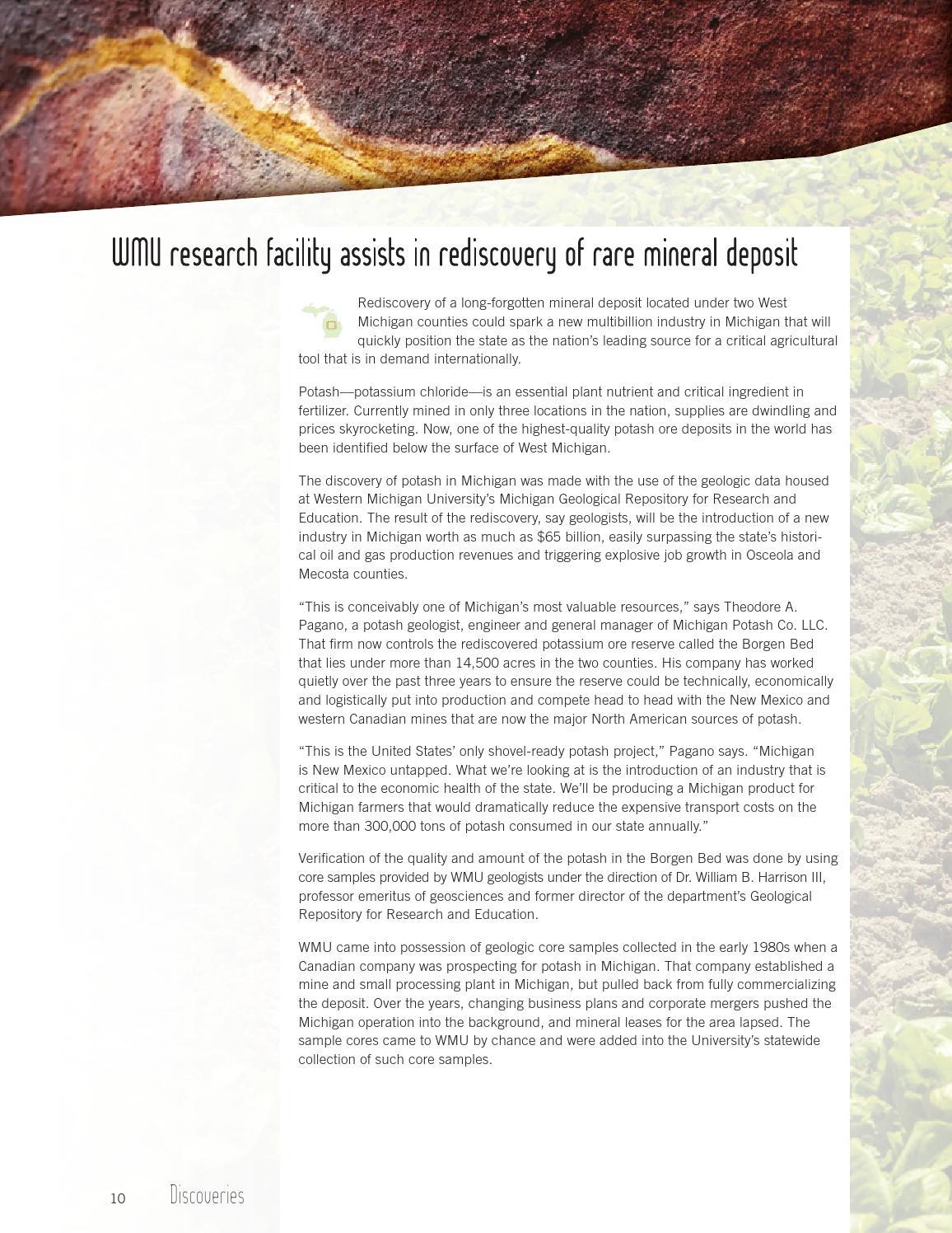 WMU Research Annual Report 2013