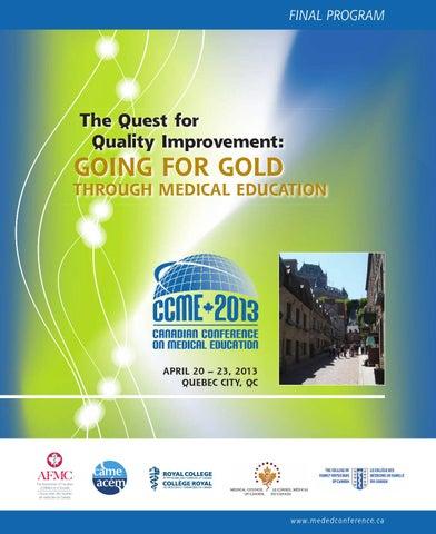 CCME 2013 Final Program (English) by Karen Norris - issuu