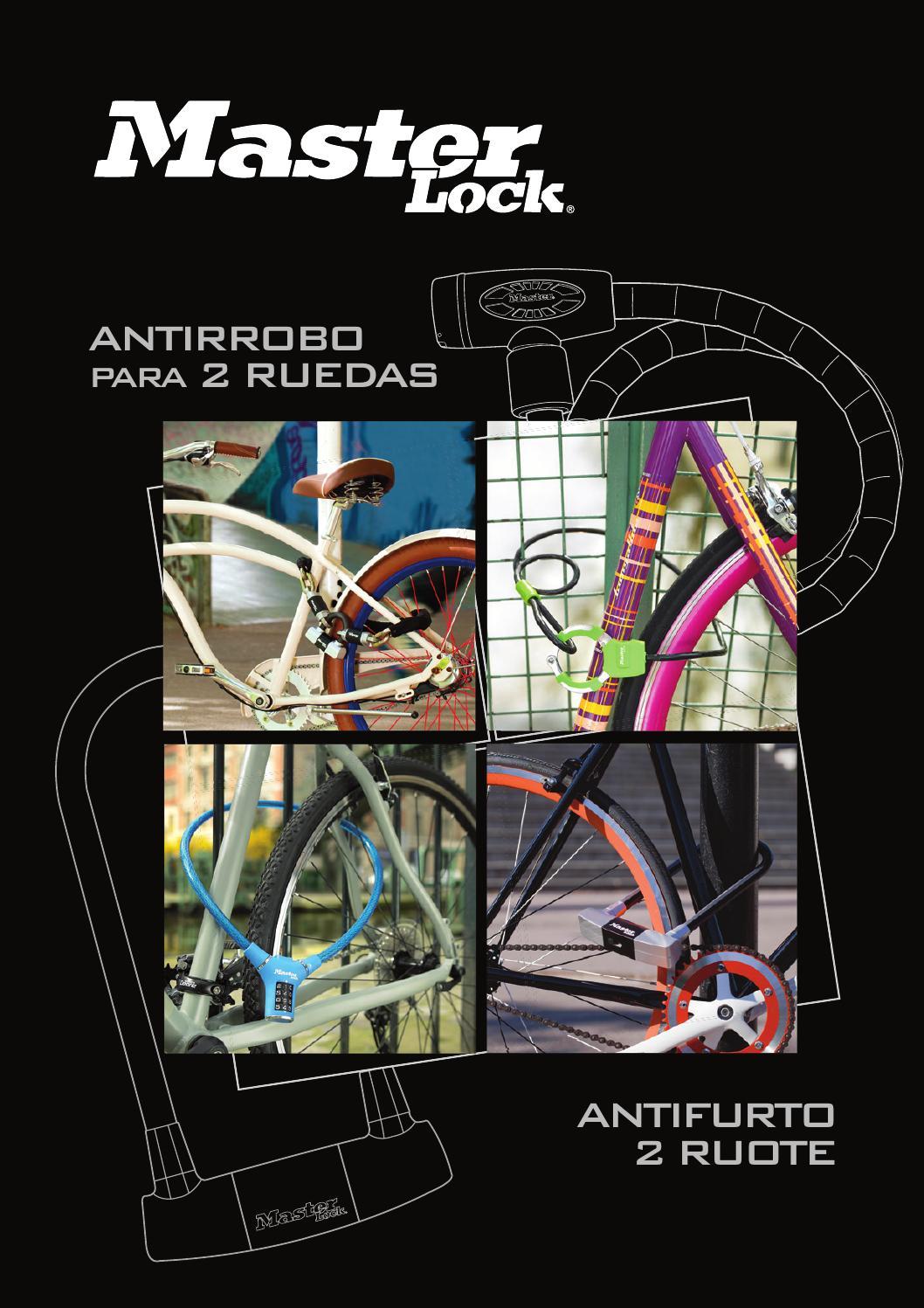 Master Lock 8303EURDPS Bloqueador de disco para moto o scooter