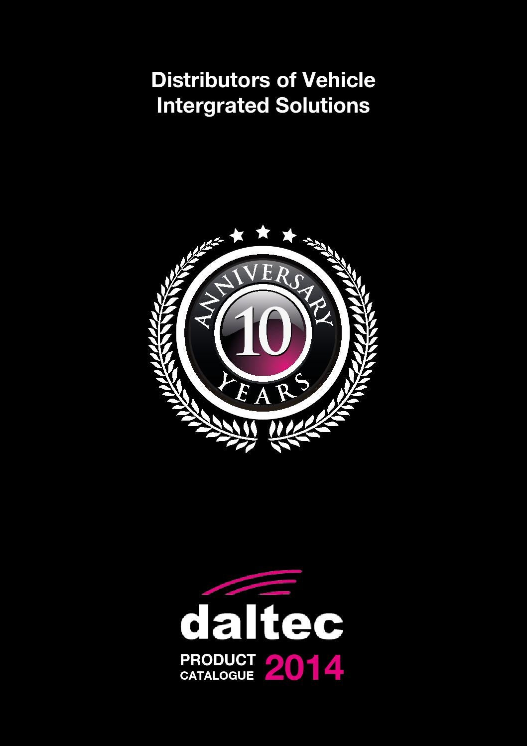 Daltec Full Product Catalogue 2014 By Ai Issuu Integral Audio Mini Cooper Amplfier Speaker Wiring Harness R55 R56 R57