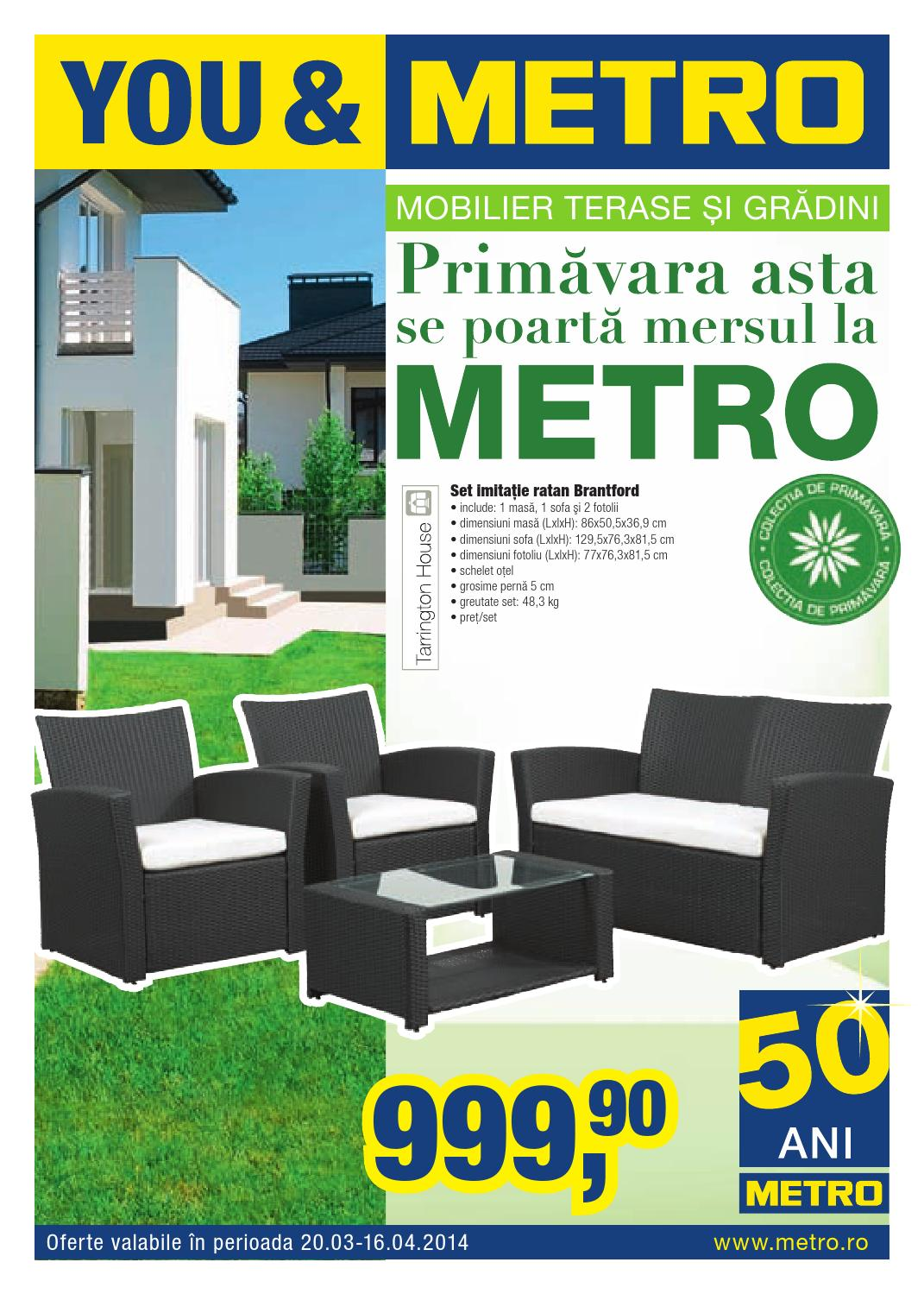 Cataloagele Metro Oferte Mobilier Terase Si Gradini By Catalog Oferta Com Issuu