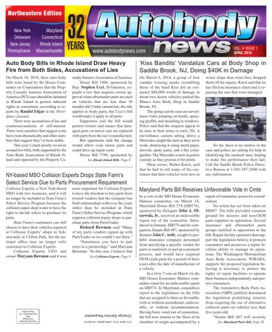 Autobody News April 2014 Northeastern Edition By Autobody News Issuu