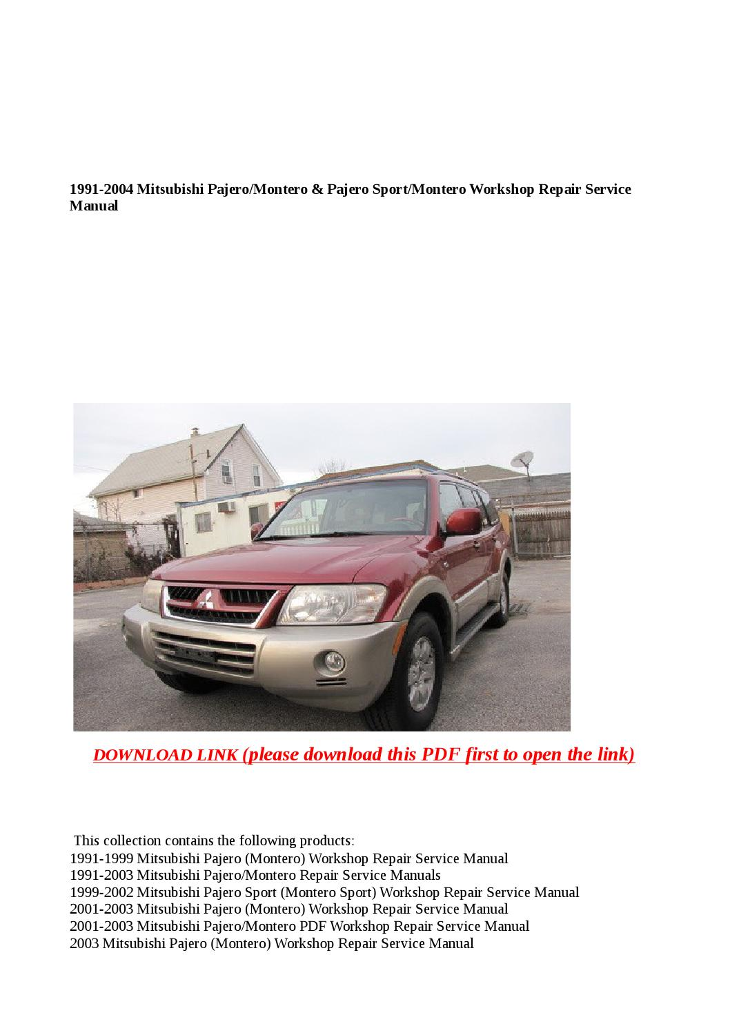 Mitsubishi PDF Workshop and Repair manuals - Wiring Diagrams