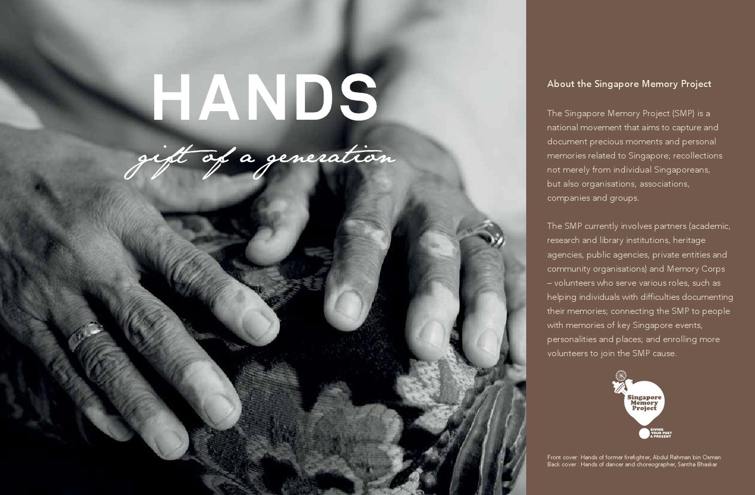 Hands Gift Of A Generation By Iremembersg Issuu Jr Pass Ordinary Ticket 21 Days Dewasa