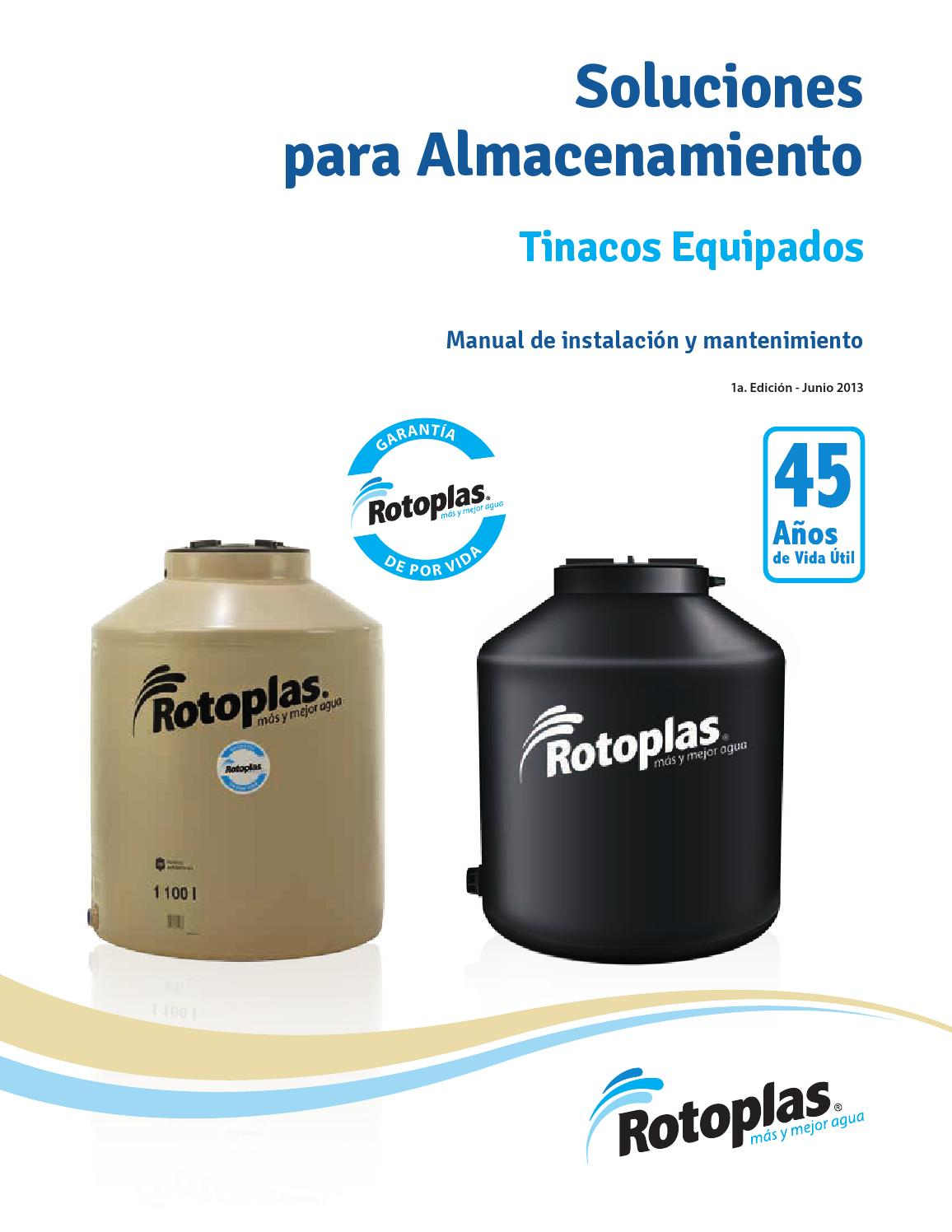Instructivo Instalacion Tinaco Rotoplas By Fernando Tec