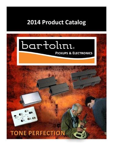 Catalogue Bartolini 2014 by Strings Music Import - issuu on