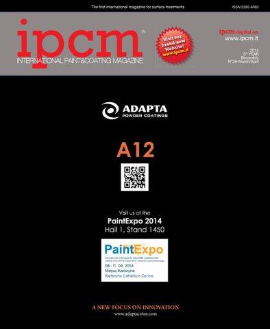Ipcm 2014 N 26 By Ipcm International Paint Coating Magazine Issuu