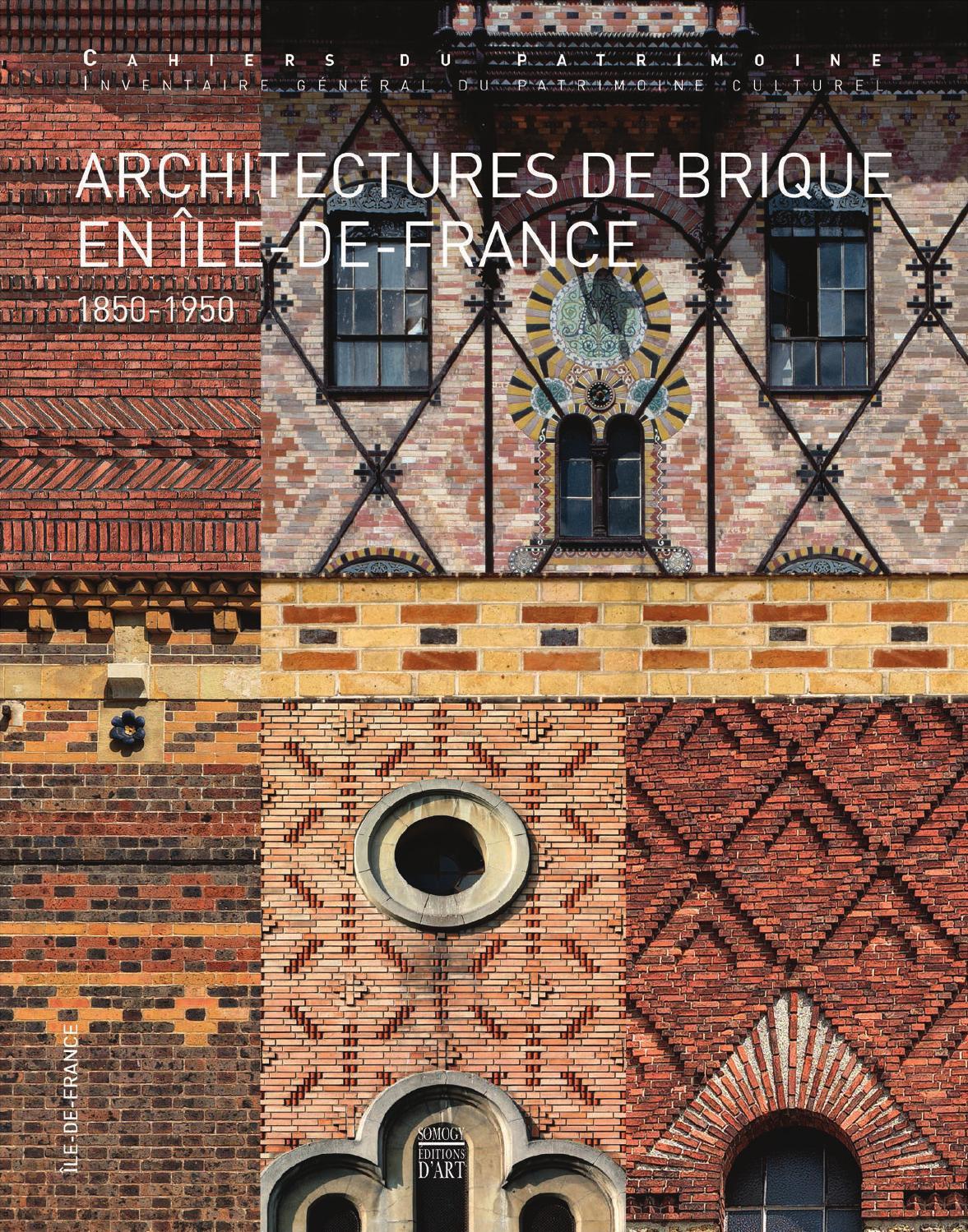 architectures de brique en le de france extrait by somogy ditions d 39 art issuu. Black Bedroom Furniture Sets. Home Design Ideas